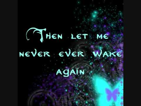 Evanescence  Before The Dawn LYRICS