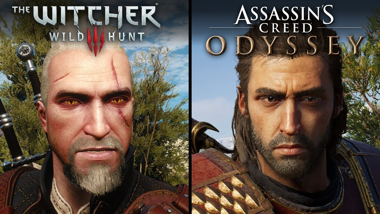 Assassin S Creed Odyssey Vs The Witcher 3 Wild Hunt Direct