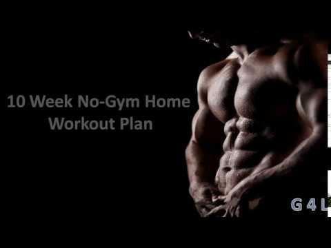 10 Weeks No Gym Home Workout Plan
