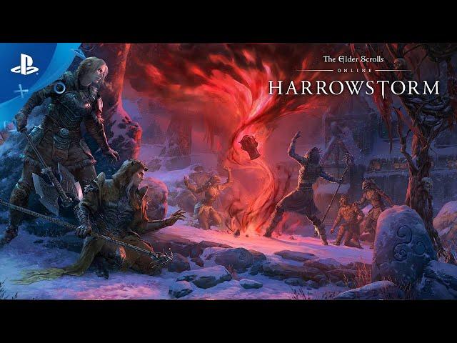 The Elder Scrolls Online: Harrowstorm - Gameplay Trailer | PS4