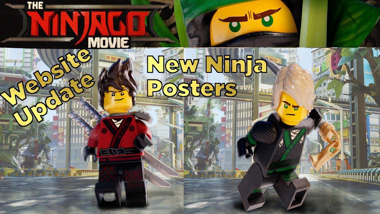 Lego Ninjago Movie Website New Ninja Posters Lloyd Kai Jay