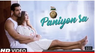 Satymeva Jayate : PANIYON SA | Full audio | Jonh Abraham | Aisha Sharma |Tulsi kumar| Atif Aslam