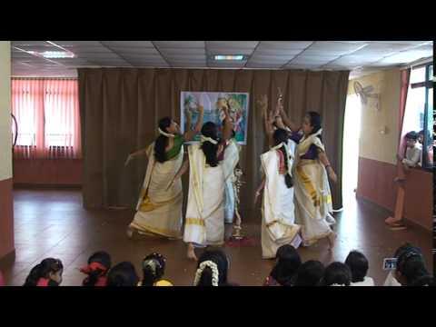 Thiruvathira Sarasadala Nayana by CG Ladies - Onam 2014 @ CG