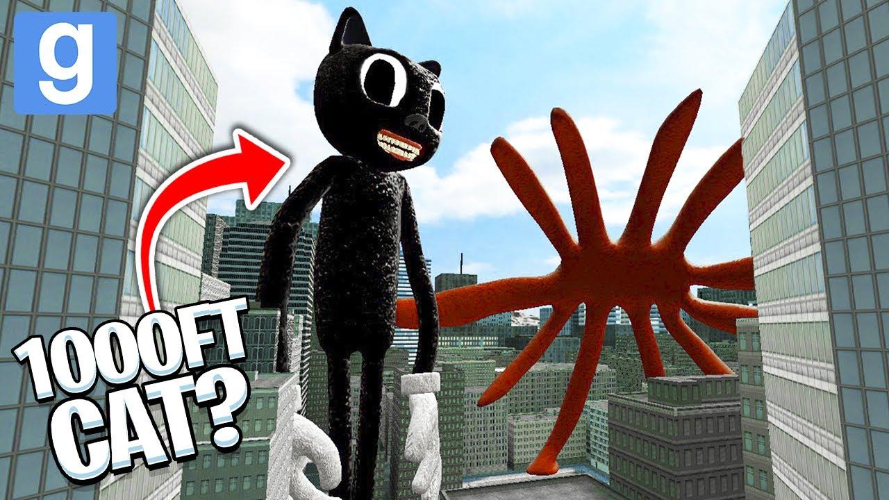 Download CAN HUGE CARTOON CAT DEFEAT... THE GIANTS?! 🙀 (Garry's Mod Sandbox)   JustJoeKing