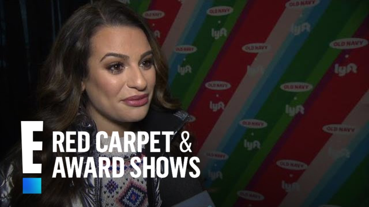 Lea Michele Talks Celebrating Christmas With Old Navy & Lyft   E! Red Carpet & Award Shows