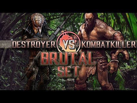 Mortal Kombat X: Destroyer vs Kombatkiller FT10 (BRUTAL SET) thumbnail