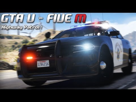 GTA 5 - Law Enforcement Live - Highway Patrol ! (Five M)