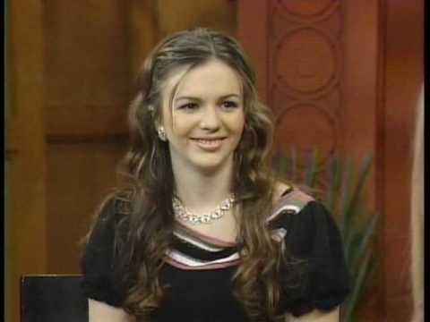 Amber Tamblyn interview on 'LwR&K' (11-25-2003)