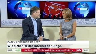 Smartfrog CEO Charles Fränkl im Interview bei ntv auf der IFA 2017