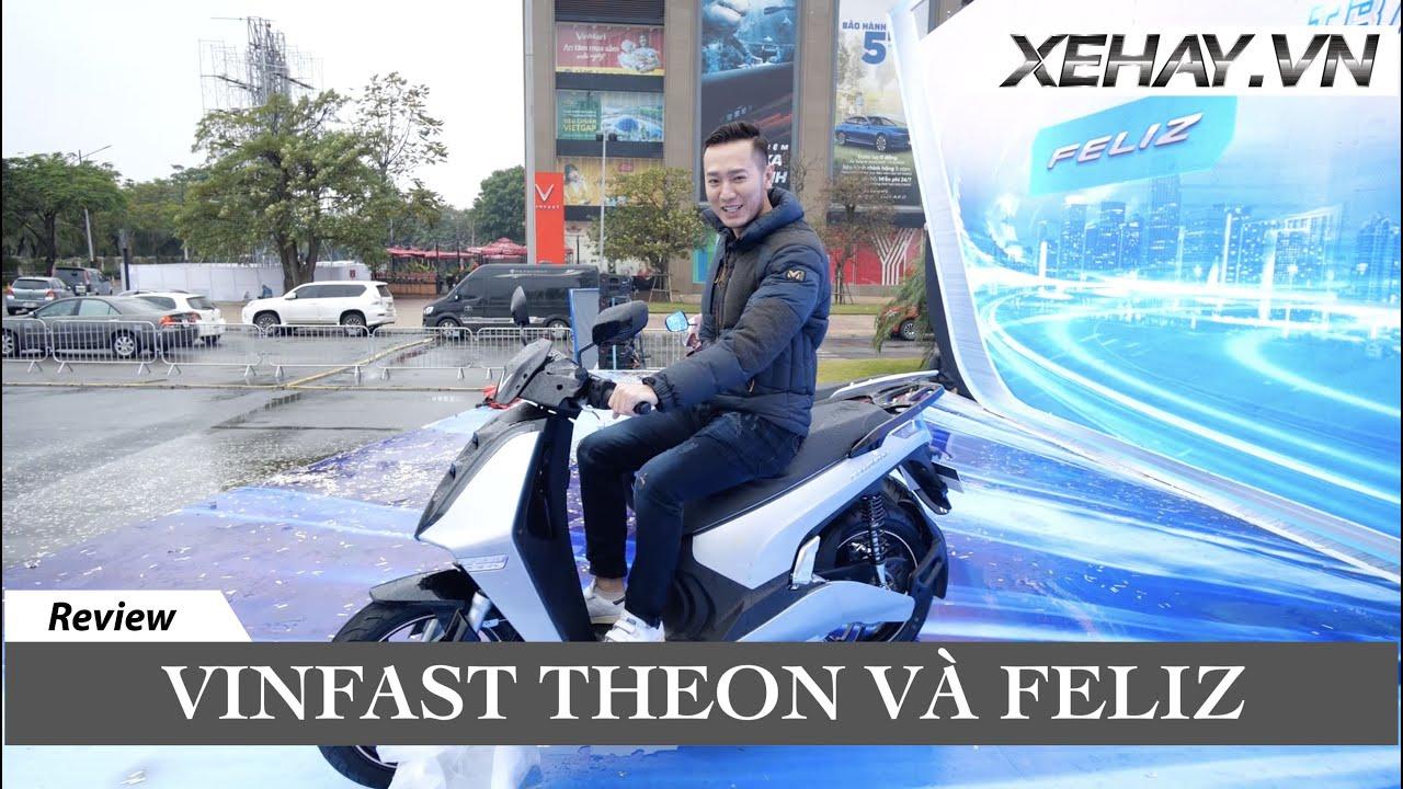 Đánh giá bộ đôi xe máy điện Vinfast Theon và Feliz hoàn toàn mới |XEHAY.VN|