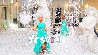 Бумажное шоу на свадьбе (SVICH SHOW)