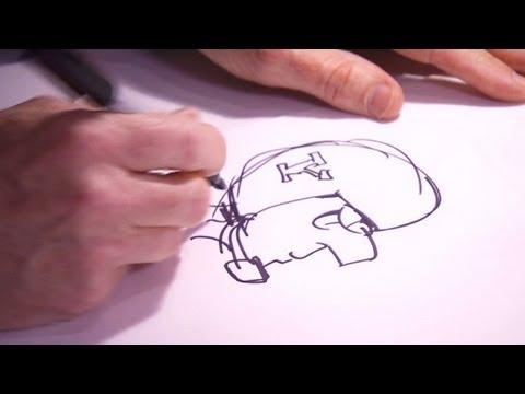 Drawing with Doonesbury's Garry Trudeau