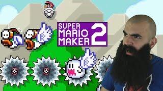 Mario Maker 2: No Skip Endless Super Expert Challenge #9 - From Treasure to Trash..