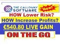 ™Calloway-Software 💪💲HOLIDAY MONEY MAKER €540.80 LIVE PROFIT🤑