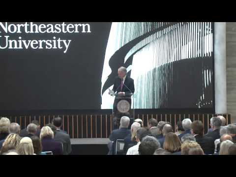 Northeastern University's Interdisciplinary Science and Engineering Complex Ribbon Cutting