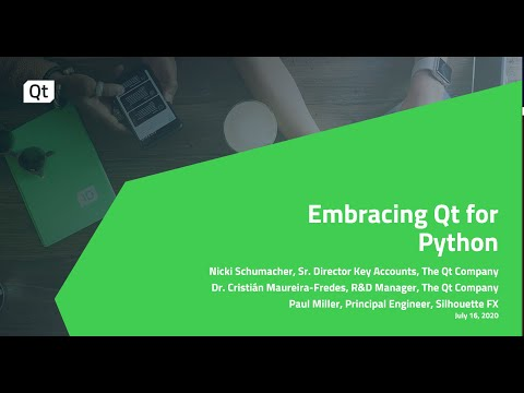 Embracing Qt for Python {On-demand webinar}