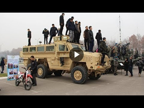 Показ узбекской армии в Ташкенте  - УЗБЕКИСТАН 24