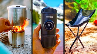 TOP 10 BEST CAMṖING GEAR AND GADGETS 2020