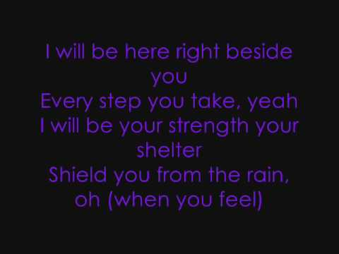 Right here (Departed)- Brandy with lyrics