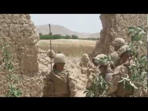 Marines Assault Insurgent Stronghold In Kajaki, Afghanistan Part I