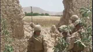 Marines Assault Insurgent Stronghold In Kajaki, Afghanistan Part I