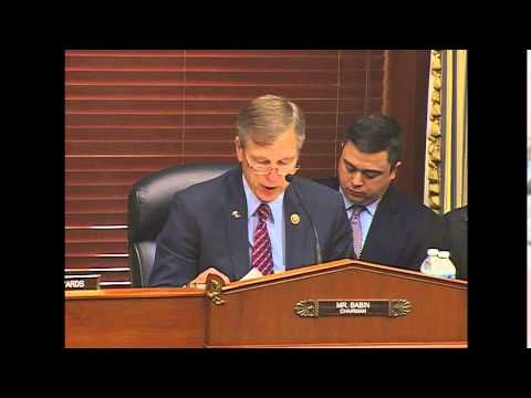 Space Subcommittee Chairman Babin Discusses Importance of NASA's SLS and Orion Programs