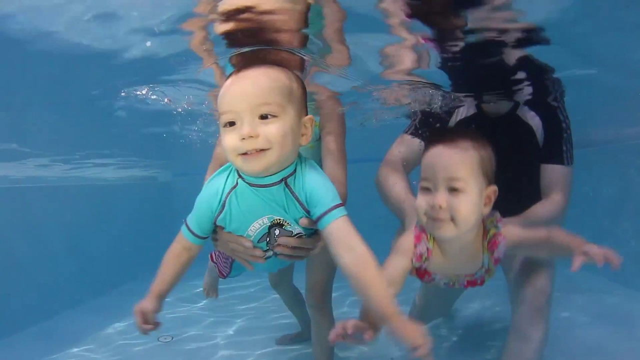 Babies Kids Swimming At Baby Pool Thailand 1 Youtube