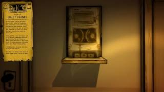 Bendy and the Ink Machine  chapter one Updated Voice of Wally Franks