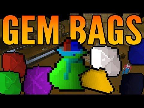 Opening 15 Gem Bags & 85 Mining Profit | OSRS