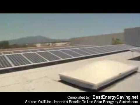 The Great Advantages Of Solar Energy