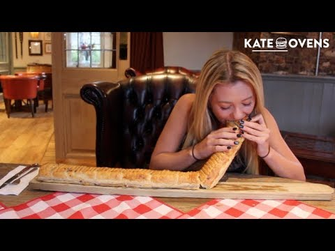THE UKS LARGEST SAUSAGE ROLL CHALLENGE