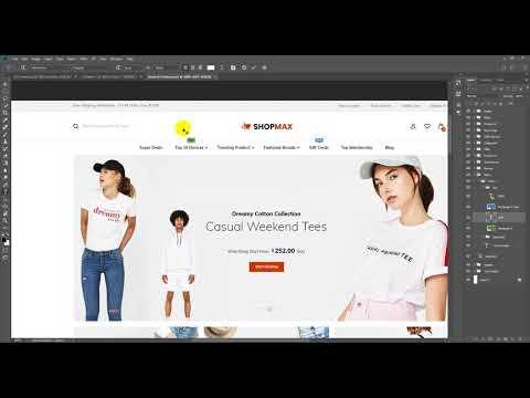 Shopmax PSD To HTML #2 | Class #15