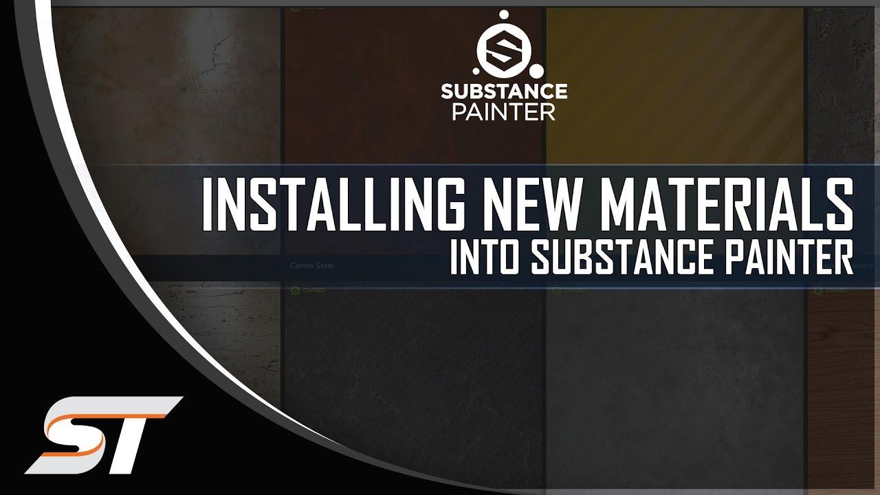 substance painter 2 smart materials download