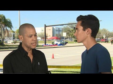 Florida high school student interviewed classmates during shooting