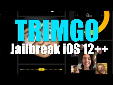 The very 1st-time iOS 12.3 ++ web-based iOS version has been released - TRIMGO