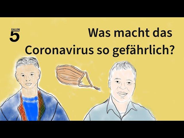 Corona-Podcast #4: Das macht das Corona-Virus so gefährlich!