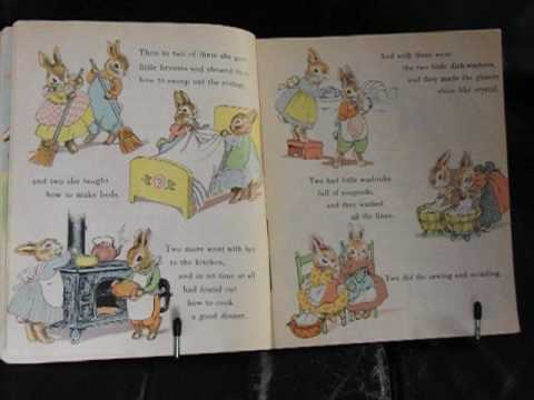 Reading 'The Country Bunny and the Little Gold Shoes' My last Easter video. xx