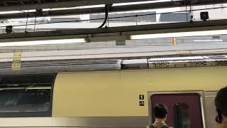 215系NL-4編成 ドア開け 新宿11番線にて