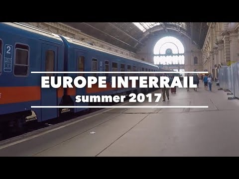 INTERRAIL EUROPE 2017 | SOLO TRAVEL | GoPro