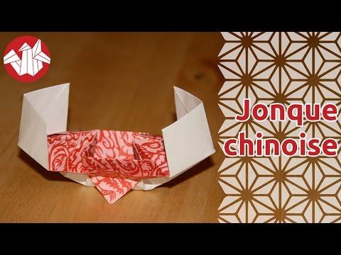 origami jonque chinoise senbazuru youtube. Black Bedroom Furniture Sets. Home Design Ideas