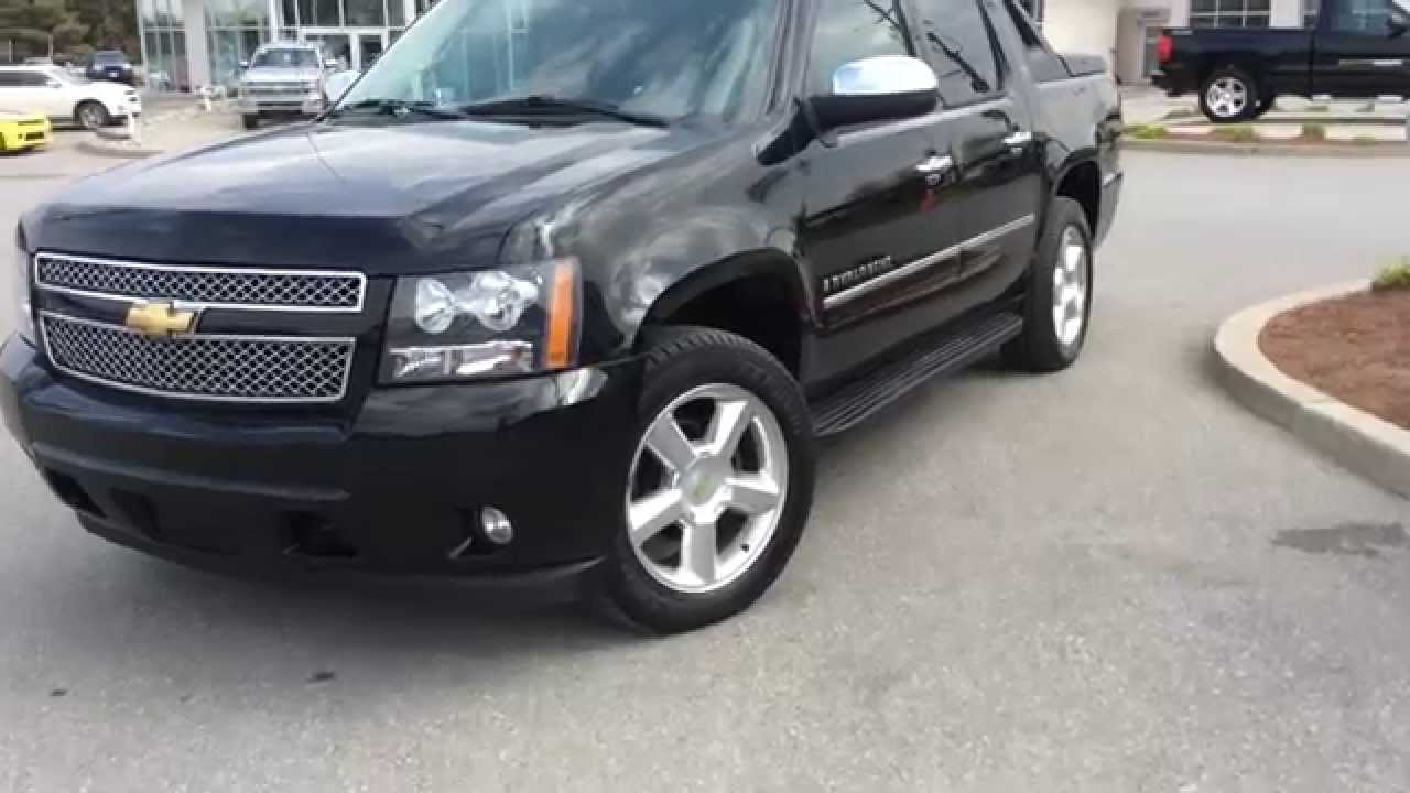 used 2009 chevrolet avalanche crew ltz leather roof boyer chevrolet lindsay 14177b youtube. Black Bedroom Furniture Sets. Home Design Ideas