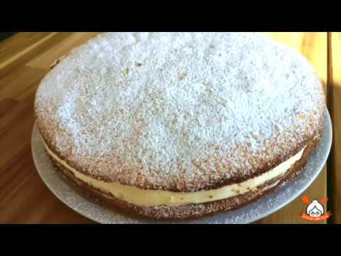 Torta bianca con crema al mascarpone