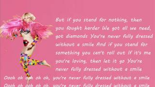 Download Sia - You're Never Fully Dressed Without a Smile (lyrics) MP3 song and Music Video