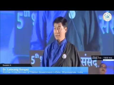 Tibetan Prime Minister Dr. Lobsang Sangay 2015