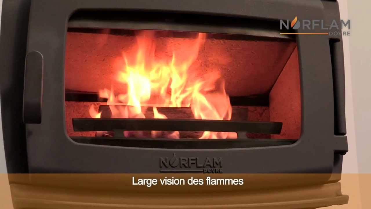 Norflam presentation Prelude poêle à bois  wood stove  YouTube