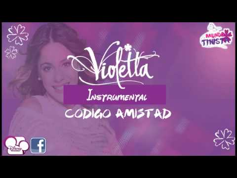 Violetta - Código Amistad [Karaoke Version]