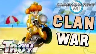 Mario Kart Wii Clan War: Sneakster vs Bullet Bike (150cc)