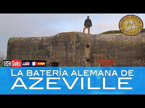 LA BATERÍA DE AZEVILLE (Normandía)