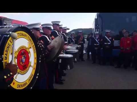 III MEF Band VS. ROK Army Band Drumline Battle
