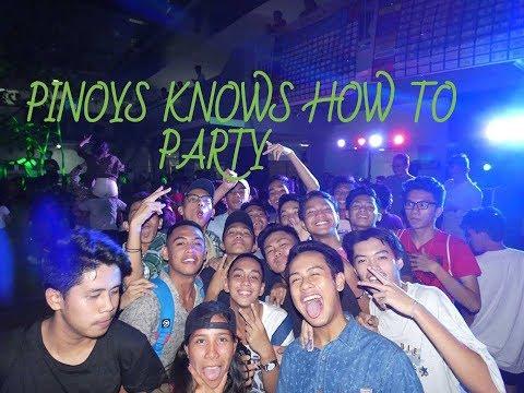 Victory Party. University of Cebu, Banilad